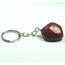Klíčenka - Jaspis červený