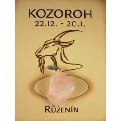 kozoroh - růženín valounek