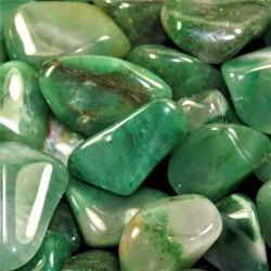Chalcedon zelený tromlovaný (leštěný) valounek