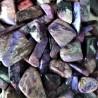 Malachit tromlovaný (leštěný) valounek