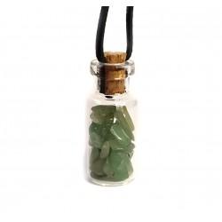 skleněná lahvička s avanturínem