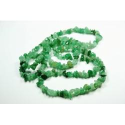 Sekaný náhrdelník 90cm - Avanturín