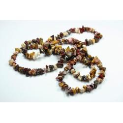 Sekaný náhrdelník 90cm - Mokait