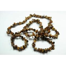 Sekaný náhrdelník 90cm -  Tygří oko