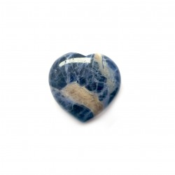 Sodalit - srdce 3 cm