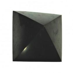 Šungit pyramida velká leštěna 5,5 x 5,5 cm