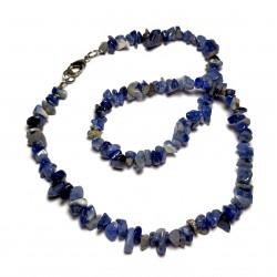 Sekaný náhrdelník 45cm - Sodalit