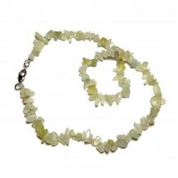 Sekaný náhrdelník 45cm - Prehnit