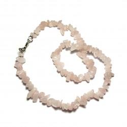 Sekaný náhrdelník 45cm - Růženín