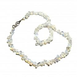 Sekaný náhrdelník 45cm - Opalit