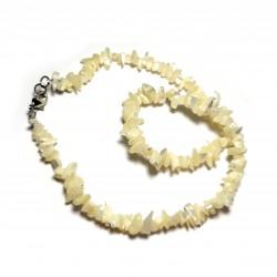 Sekaný náhrdelník 45cm - Z mušlí