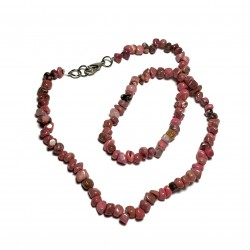 Sekaný náhrdelník 45cm - Rodonit